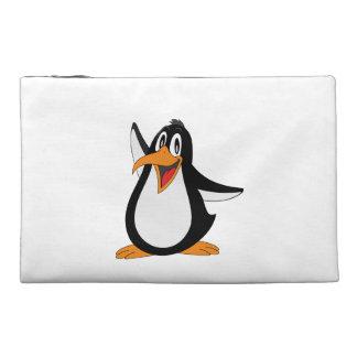 Penguin cartoon travel accessories bags