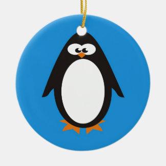 Penguin Ceramic Ornament