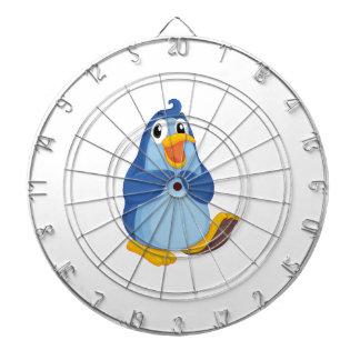 Penguin character dart boards
