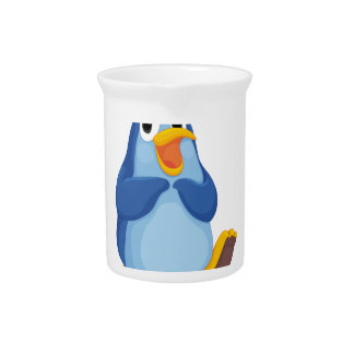 Penguin character pitchers