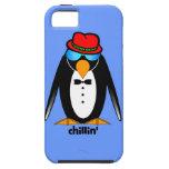 penguin chillin' iPhone 5 cases