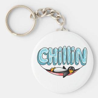 PENGUIN CHILLIN KEY CHAIN