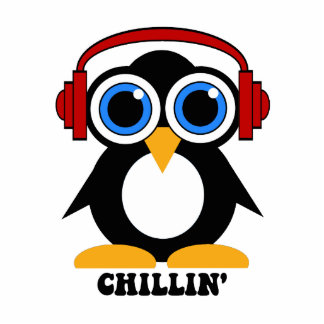 penguin chillin photo cutout