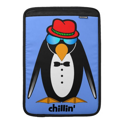 penguin chillin' sleeve for MacBook air