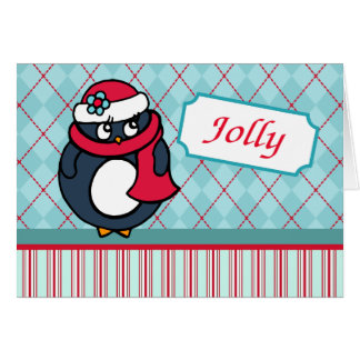 Penguin Christmas  Card