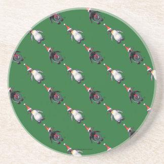 Penguin Christmas Beverage Coaster