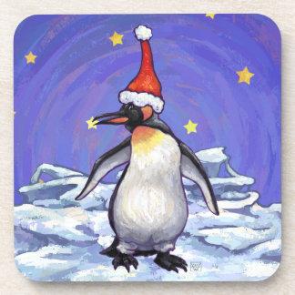 Penguin Christmas Coasters
