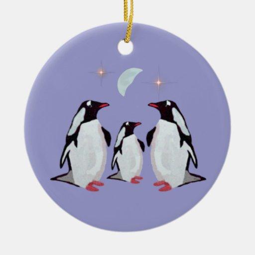 Penguin christmas family ornaments zazzle for Family christmas ornaments to make