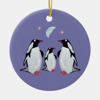 Penguin Christmas Family Ornaments
