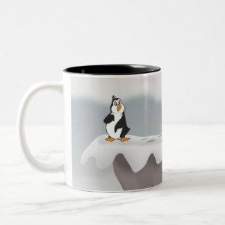 Penguin Cliff Mug