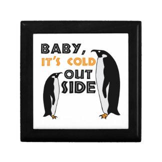 Penguin Cold Trinket Boxes