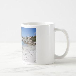 Penguin Colony on Boulders Beach, South Africa Coffee Mug