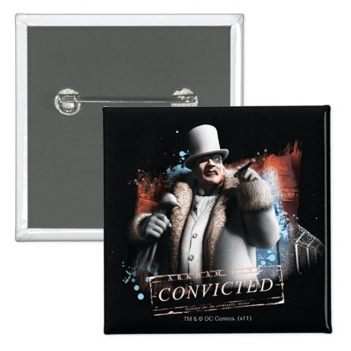 Penguin - Convicted Button