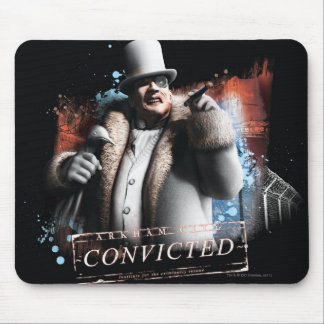 Penguin - Convicted Mouse Pad