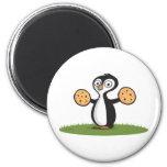 Penguin Cookies Fridge Magnet