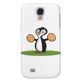 Penguin Cookies Samsung Galaxy S4 Case