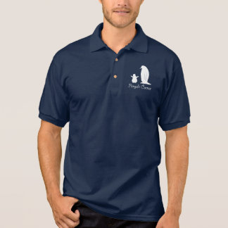 Penguin Corner with Big and Little Penguins Polo Shirt
