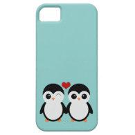 Penguin couple iPhone 5 case