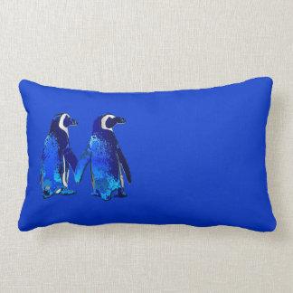 Penguin Couple Throw Pillows