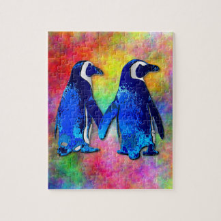 """Penguin Couple"" Puzzle"