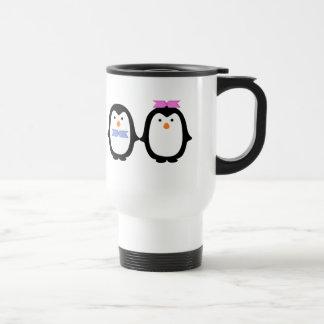 Penguin Couple Travel Mug