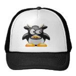 Penguin Cow With Horns Trucker Hat