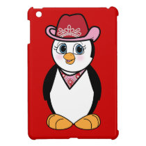 Penguin: Cowgirl Cover For The iPad Mini
