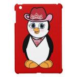 Penguin: Cowgirl iPad Mini Cover