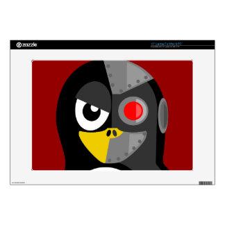 "Penguin Cyborg 15"" Laptop Decals"