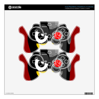 Penguin Cyborg Decal For PS3 Controller