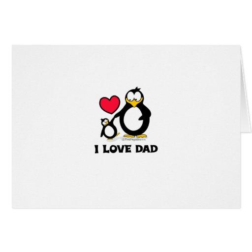 Penguin Dad Cards