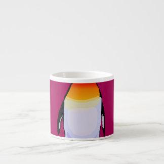 Penguin Deep Red Espresso Cup
