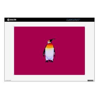 "Penguin Deep Red Skin For 15"" Laptop"