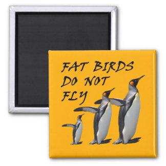 Penguin design funny fridge magnet