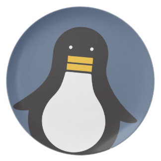 Penguin Dinner Plate