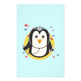 Penguin doctor in circle Z2j5l Flyer