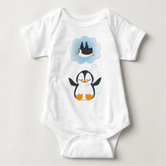 Penguin Dreams Baby Bodysuit