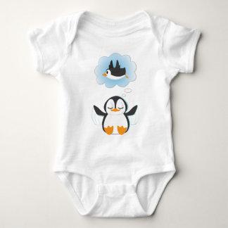 Penguin Dreams Baby Bodysuit