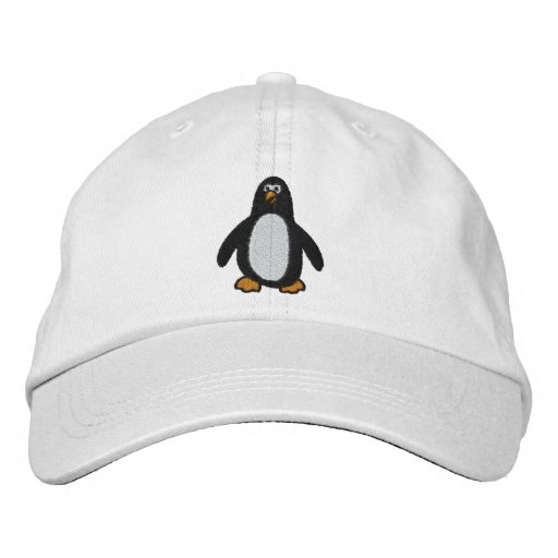 Penguin Embroidered Hat