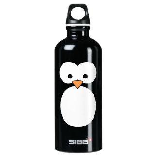 Penguin Eyes Aluminum Water Bottle