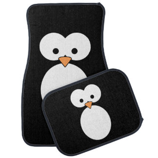 Penguin Eyes Car Floor Mat
