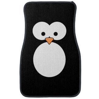 Penguin Eyes Car Mat