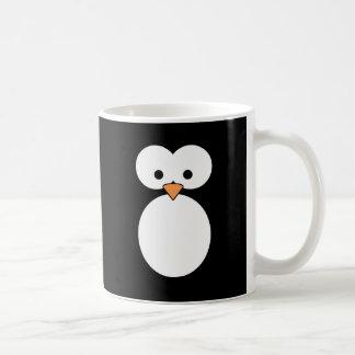 Penguin Eyes Classic White Coffee Mug