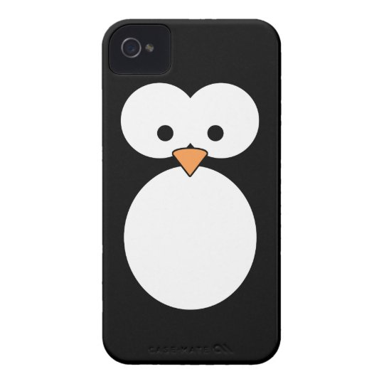Penguin Eyes iPhone 4 Case-Mate Case