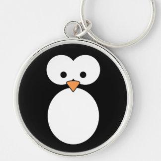Penguin Eyes Keychain