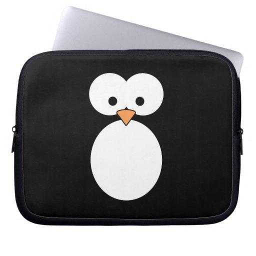 Penguin Eyes Laptop Computer Sleeve