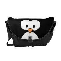 Penguin Eyes Messenger Bag