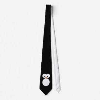 Penguin Eyes Neck Tie