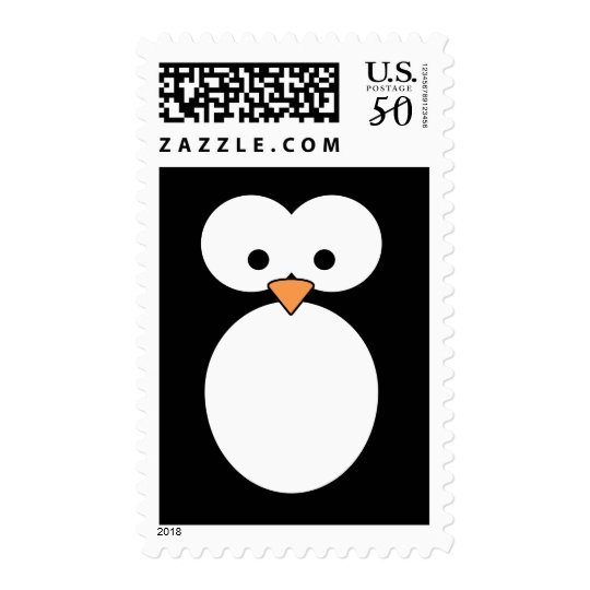 Penguin Eyes Postage