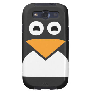 Penguin Face Galaxy SIII Cover
